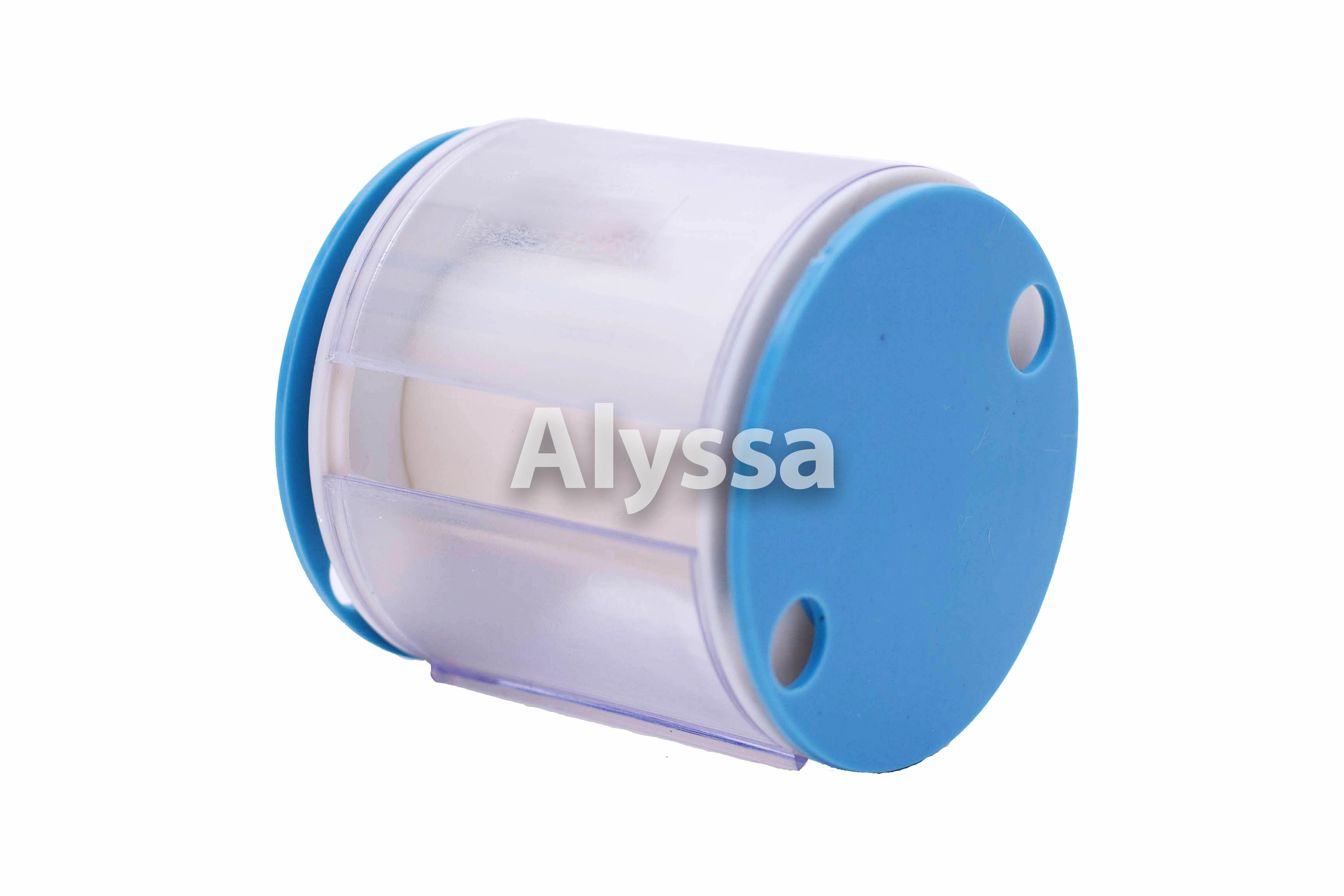 Alyssa искусство гимнастика цвета ленты специальный вокруг ремень / объем ремень - синий