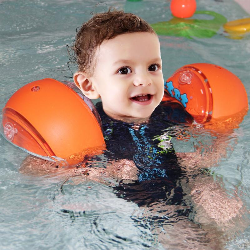 蓝卫士多气囊宝宝婴儿婴幼儿儿童小孩泳圈游泳圈手臂圈浮圈游泳馆