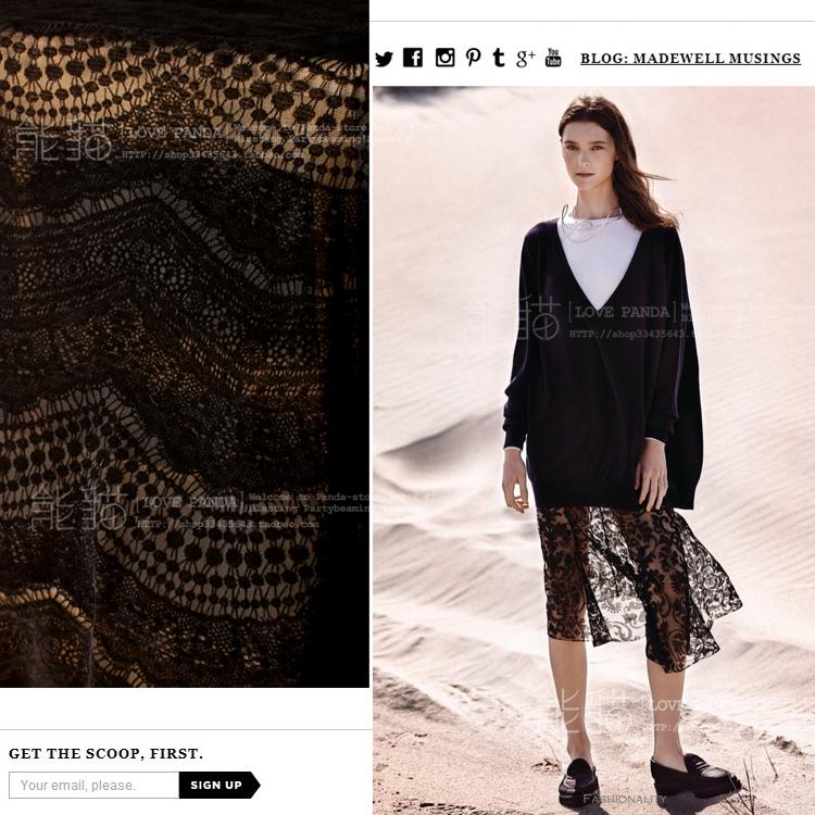 HOT29.9 ~ стекаются растянуть черный бутоны, импортируемых из Японии ~ великолепная шелковая пряжа трикотажная ткань ткань фея