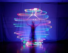 Indian dance shows color ball Belly dance flash LED night clubs luminous ball colorful accessories