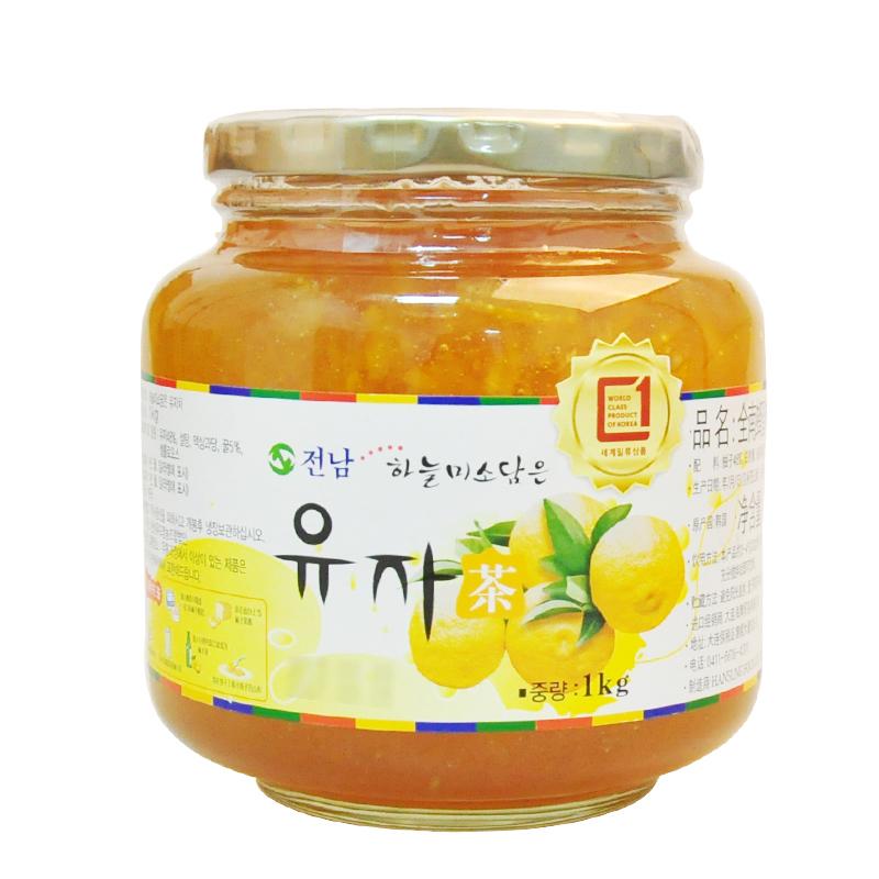 ~天貓超市~ 韓國 衝飲 全南 蜂蜜柚子茶 1kg