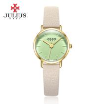 963包邮Julius聚利时2017石英机芯手表时尚防水复古女日韩腕表JA