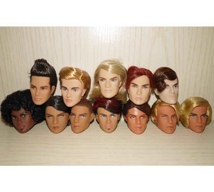 Мода роялти FR FR2 DG стекаются куклы человек и куклы волосы головы различные цвета