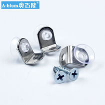 AO Blum stainless steel laminate Laminate glass bracket Z-101 Exquisite Compact 10 price