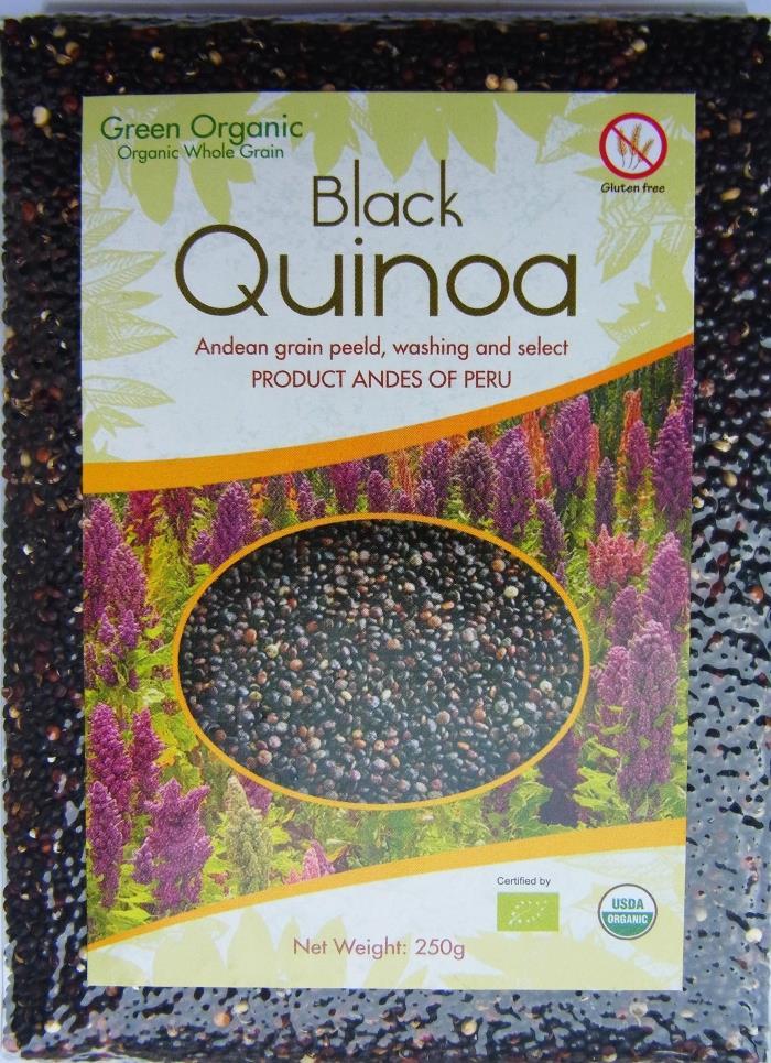 包邮秘鲁进口高品质黑藜麦奎藜印加麦250g