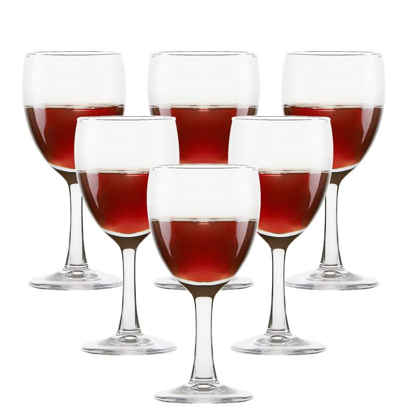 青蘋果玻璃高腳杯紅酒杯葡萄酒杯180ml 6隻裝 EJ5002
