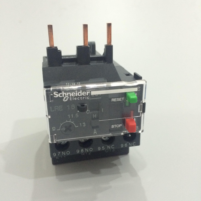 施耐德热过载继电器LRE10N 电流:4-6A 工博士 !