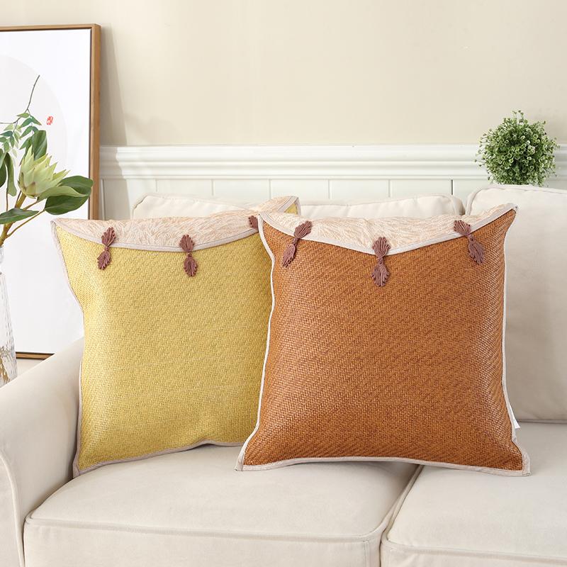 Древний виноградная лоза дуплекс коврик подушка лето диван коврик подушки рукав батареи не содержит китайский стиль офис комната прикроватный спинка