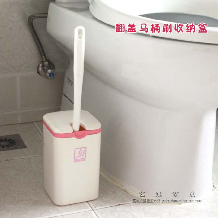 Иморт из японии туалетный ёршик в коробку туалетный ёршик полка ванная комната хранение трубка рабочий стол мусорный бак