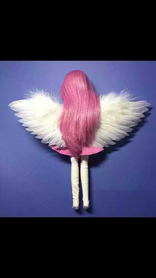 Cartoon children show wings props / Baby studio photo feather wings / BJD doll props wings