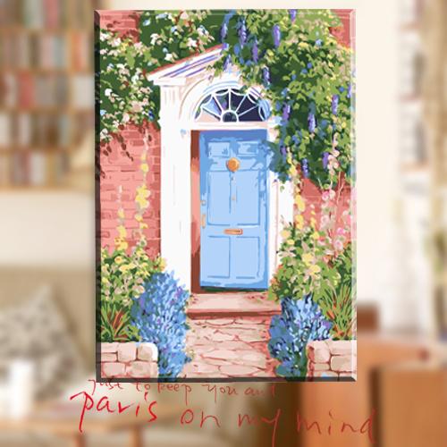领典diy数字油画风景人物客厅花卉(非品牌)