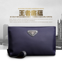 Large capacity man hand phone male package bag purse han edition multifunctional nylon Oxford cloth, canvas envelope
