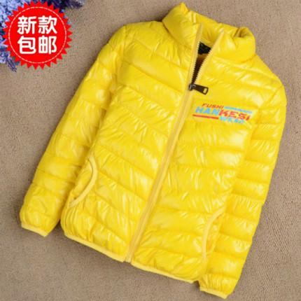 Ежедневные специальные детские куртки для мальчиков и девочек зимой вниз хлопка и кашемира пальто ребенка куртка тонкий лайнер