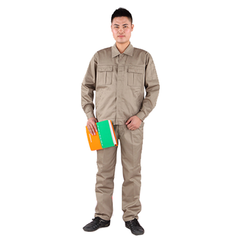 Mens and womens long sleeve work clothes workshop labor protection engineering clothes auto repair tooling work clothes mechanical uniform customized logo