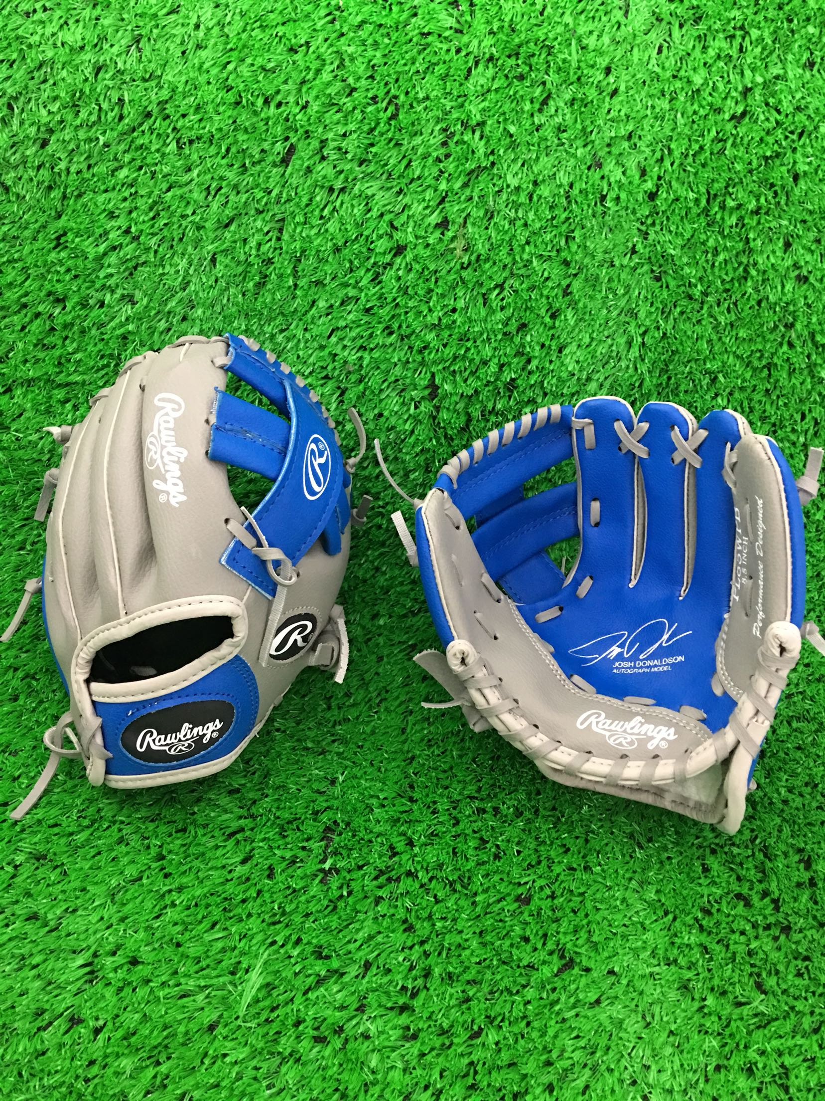 Бейсбол душа бейсбол перчатки копия pu синтез мягкий кожа ребенок ребенок молодой ребенок использование 8.5 дюймовый rawlings