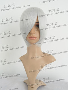 Fox received face COS wig short hair silver MSN Cone Health wisp of silver Ichimaru Russia Specials
