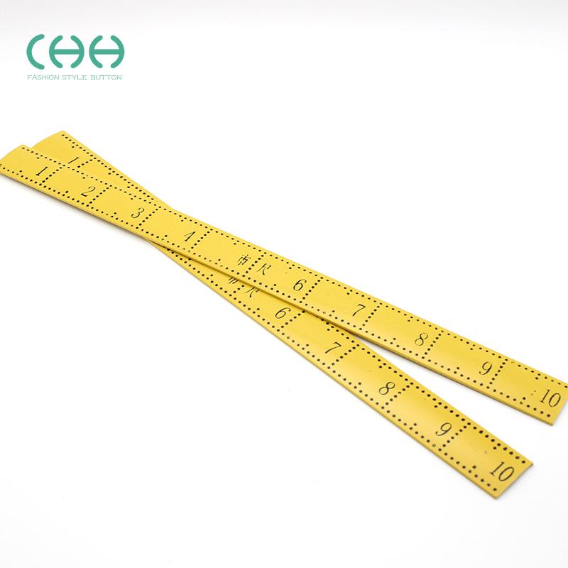 CHH 塑料量衣尺裁缝量尺子缝纫DIY测量工具尺子市尺学生文具直尺