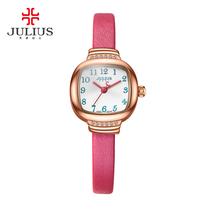 873包邮Julius聚利时2016石英机芯手表时尚防水水钻女日韩腕表JA