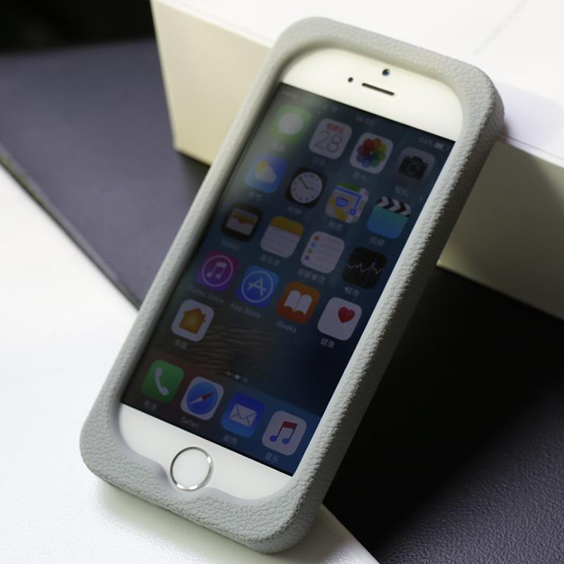 色布seepoo苹果SE IPHONE5手机套 iphone5s手机壳 se硅胶套 保护壳 柔软防摔全包 防滑皮纹 厚 男女通用
