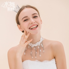Beauty is just too Korean character cute little tiara Crown ring round the bride flower girl tiara wedding accessories A1291