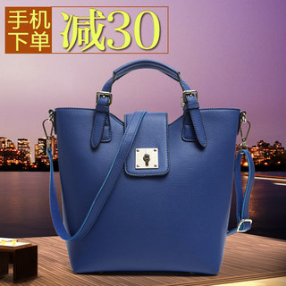 Title leather women bag 2015 fall/winter new fashion trend of leather ladies shoulder handbag bag