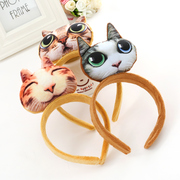 Know Connie hair accessory stereo headband cat cats cute head band sold card child cute squirrels animals head ornaments