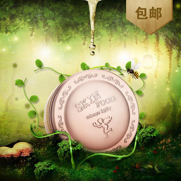 Мед кожи пищи Зе 30g морщины, темные круги глаз крем увлажняющий укрепляющий Южной Кореи, приобретение подлинных