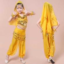 The new package mail June 1 children's Indian dance clothing Belly dance costumes of the girls Tianzhu girl performance clothing