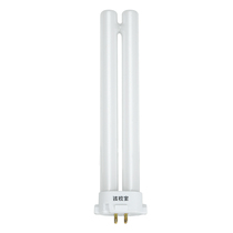 Baby Vision Three-color tube 13w5000k single h type up and down four-pin fluorescent lamp tube