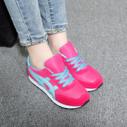 2015 winter new thick-soled sneakers girl Korean version flows of students Forrest Gump running flat-bottom shoes leisure women shoes