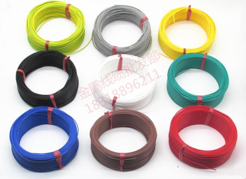 Электронный кабель больше доля мягкий медь провод BVR RV0.3 0.5 0.75 квадрат источник питания сын контроль сигнал линия
