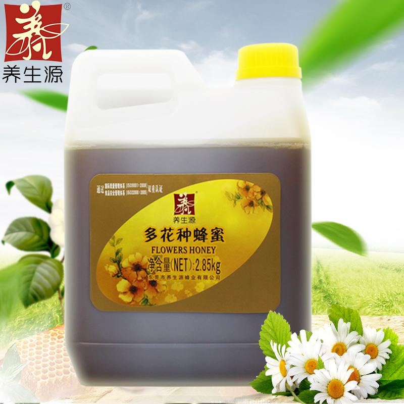 假一赔十养生源 多花种蜂蜜 2850g 多种花蜜百花蜜农家蜂蜜大瓶装