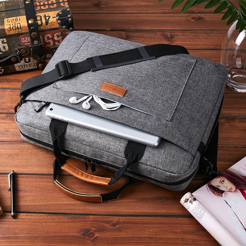 Asus dell hewlett-packard 13/14/15/15.6/17.3 дюймовый ноутбук компьютер пакет портативный плечо мужской и женщины бизнес