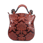 Beautiful Dragon original female header layer of leather 2015 new extravagant vintage wind, China leather satchel bag