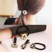 Know Connie hair ornaments small circle the fields breathe sweet Korean hair band hair flower hair clip hairpin temperament line camellias