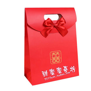 European style wedding celebration supplies big red cartoon wedding candy box candy bag mounted box creative personality