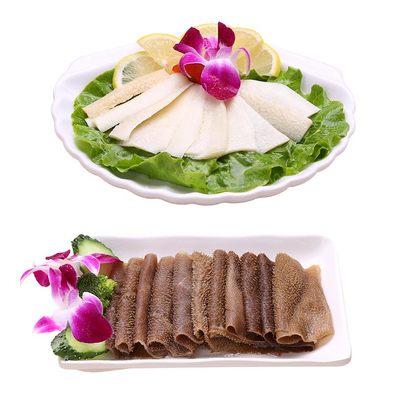 福星牛牛百叶套餐(精品肚片+牛黄喉)1kg牛杂毛肚新鲜批发火锅食