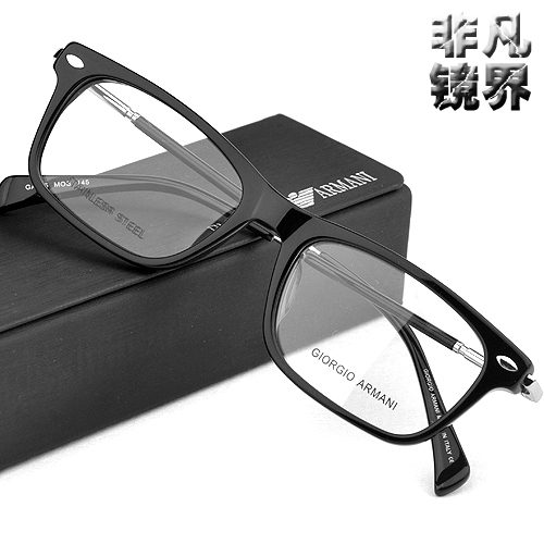 Винтаж элитного Armani моды пластины очки ультра легкие не мейнстримовых ОПРАВА унисекс