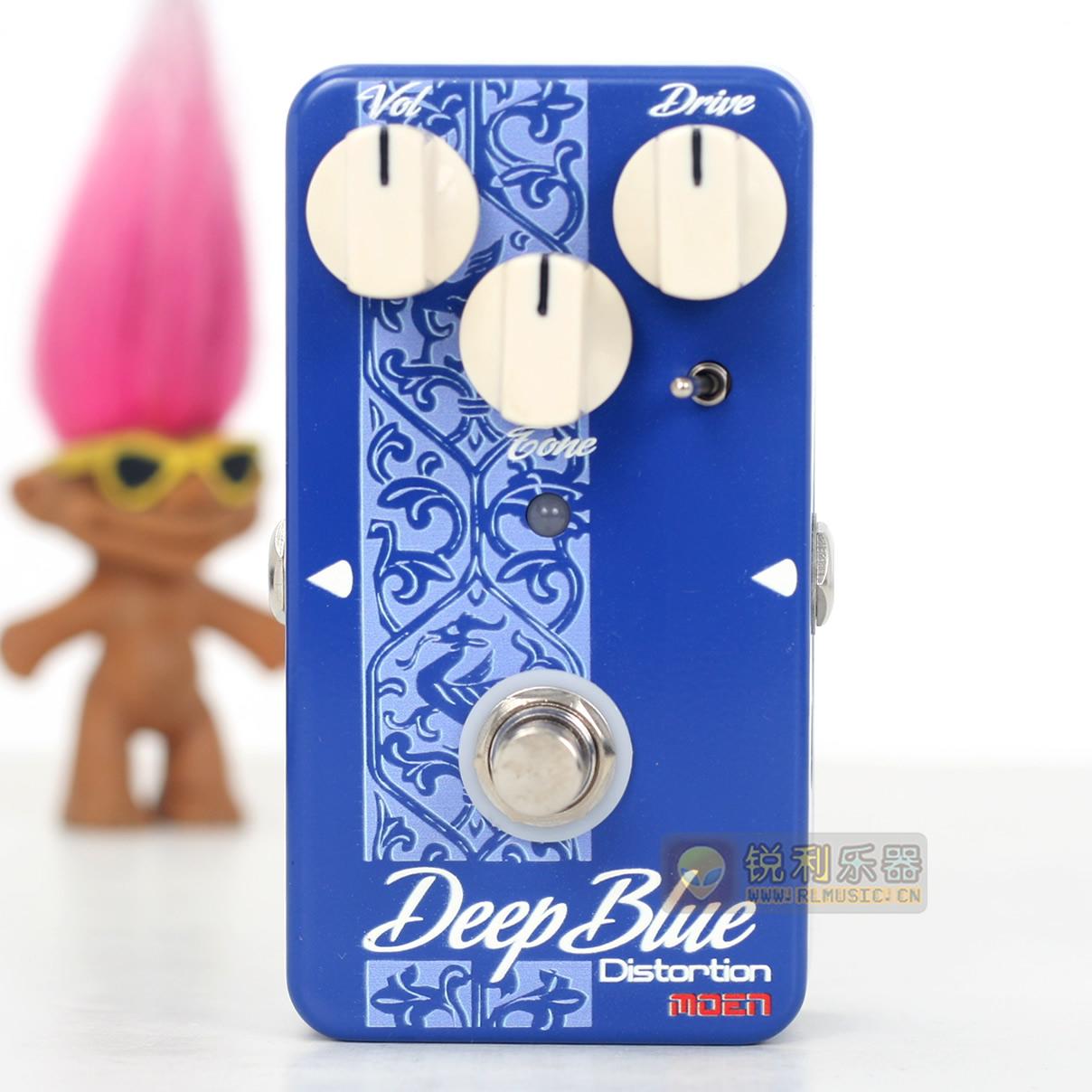 【Moen AM Deep Blue】魔音小深蓝失真效果器【锐利乐器】