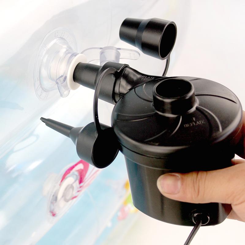 Электрический надувной насос вакуум сжатие мешок чистый черный мешок специальный заряд газ привлечь газ двойной воздушная кровать плавательные круги газированный должен необходимость