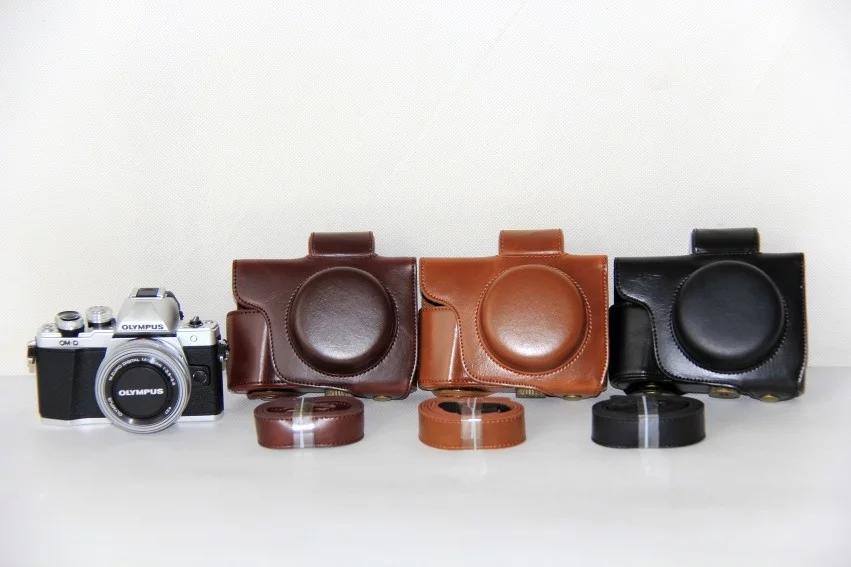 包邮 奥林巴斯EM10 MarkII相机包E-M10二代长短焦14-42mm皮套