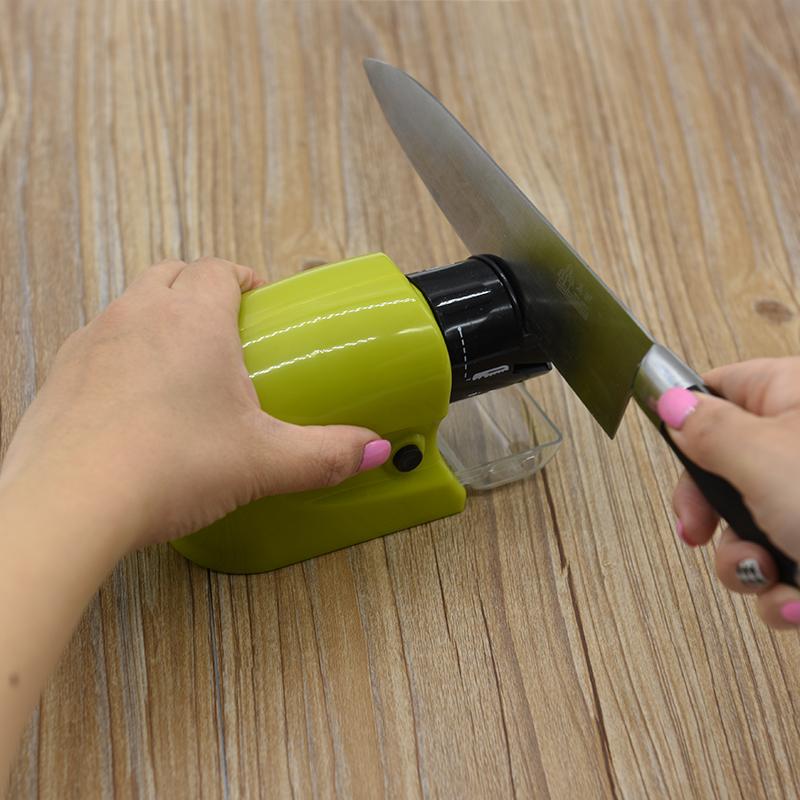 Бесплатная доставка кухня электрический братья устройство многофункциональный быстро точильный камень шлифовальный круг машинально мельница ножницы кухонные ножи инструмент