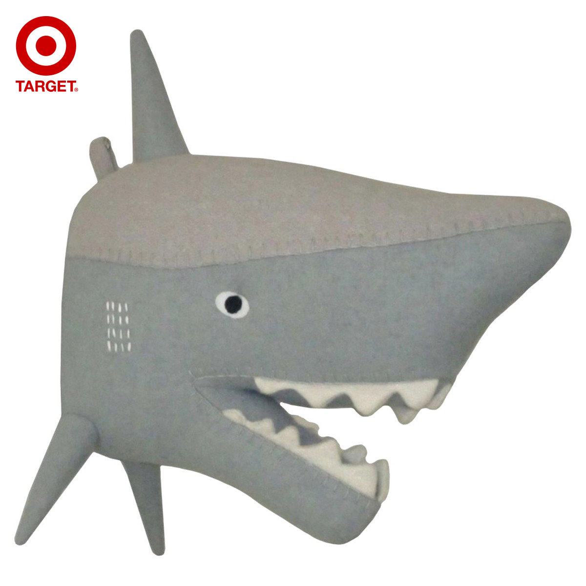 Сша Pillowfort ткань даже акула глава стена на искусство декоративный статья домой декоративный статья