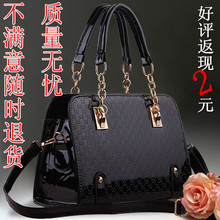 Daily specials handbag obliquely across the new autumn European and American fashion tide restoring ancient ways ms paint one shoulder