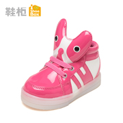 Winter shoe shoebox2015 new sweet children's shoes with Velcro low tube boots 1115535004
