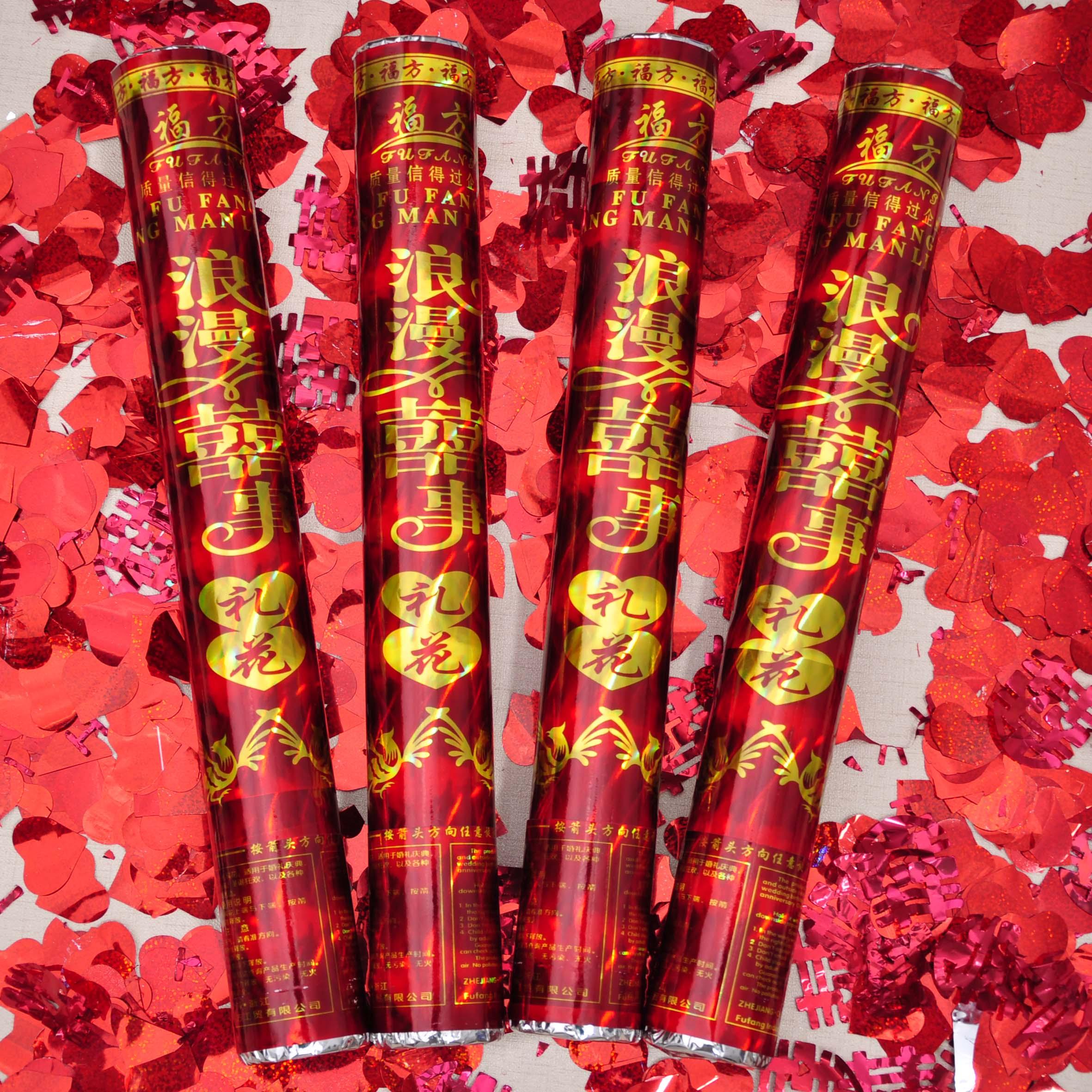 Сладкий обещание выйти замуж церемония праздновать код свадьба статьи фейерверк трубка портативный церемония гость цветы и подарки пистолет спрей блестки лепесток фейерверк