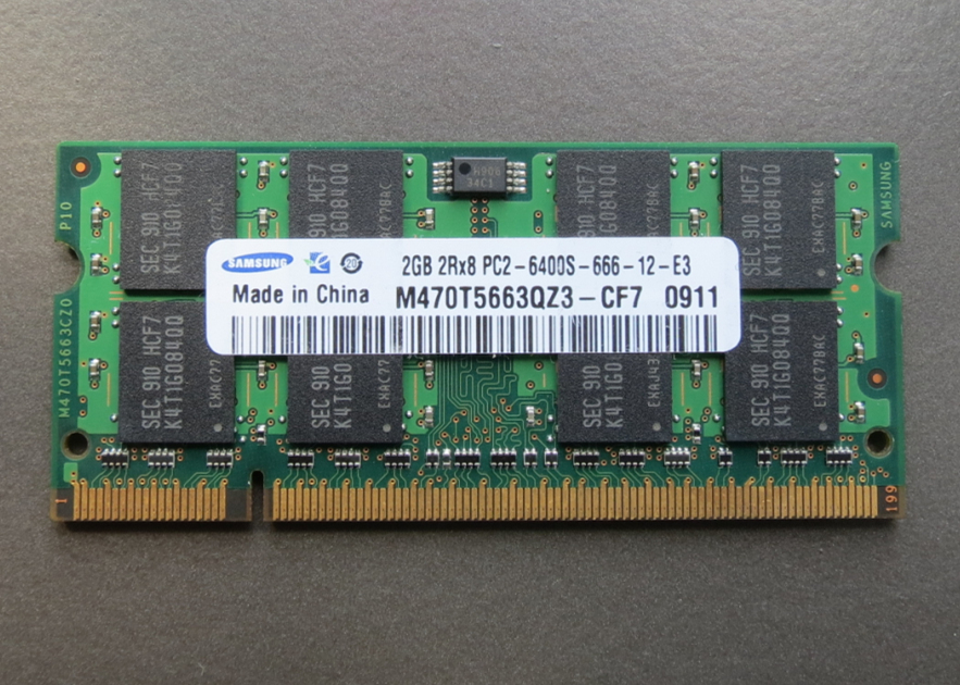 三星DDR2 2G 800 �P�本�却�lPC2-6400S 兼容533 667送螺�z刀