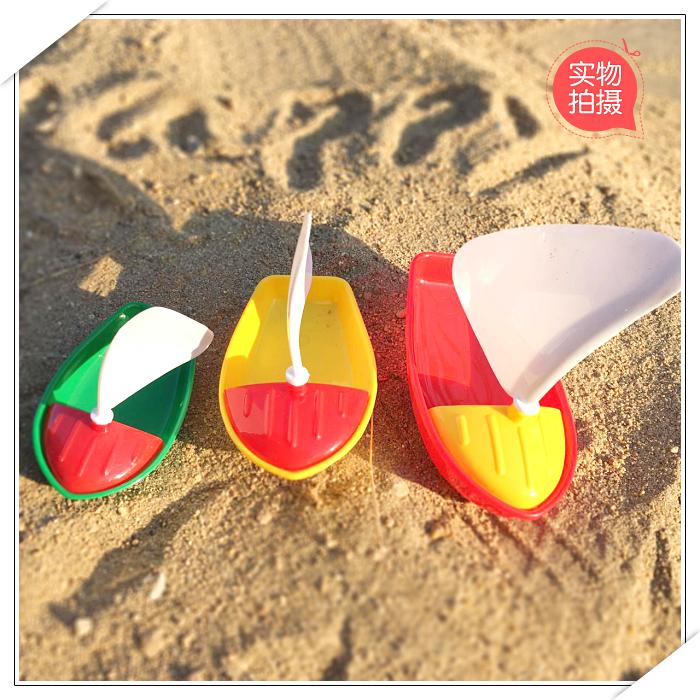 大中小号婴幼儿童宝宝0-2周岁塑料玩水小帆船洗澡戏水玩具3C认证