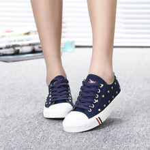 Han edition tide girls canvas shoes 2015 female children's sandals the spring and autumn period and the new single low help students comfortable cloth shoes