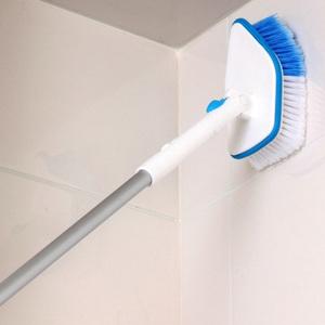 日本加长柄清洁<span class=H>刷子</span>窗户玻璃刷瓷砖刷浴室墙壁地砖刷卫生间地板刷
